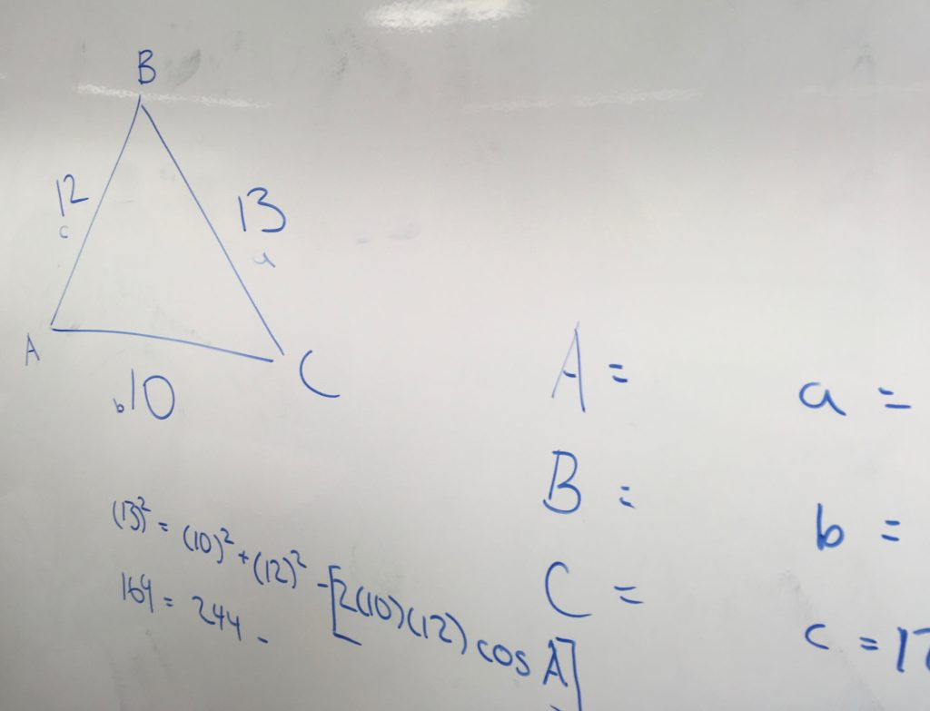 Image Result For Law Of Cosine Problems With Solutions